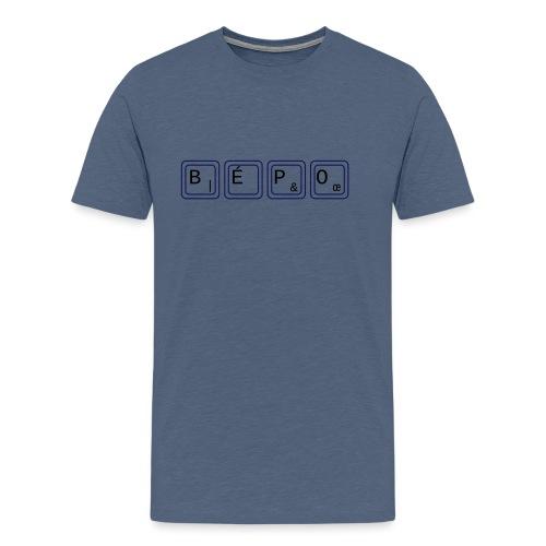 bépo - T-shirt Premium Homme