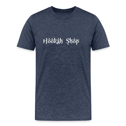Das Legendäre Hookah Shop Logo in weißer Schrift - Männer Premium T-Shirt