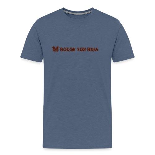 Bouge ton boule - marron-03 - T-shirt Premium Homme