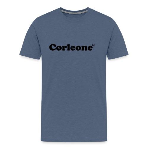 schrift corleone - Männer Premium T-Shirt