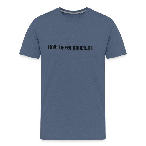 Schwarz golf Unterwäsche - Männer Premium T-Shirt