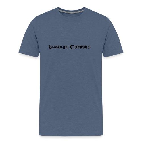 blc logo simple - Men's Premium T-Shirt