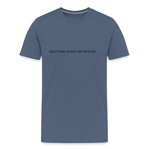 tagline3 - Premium-T-shirt herr