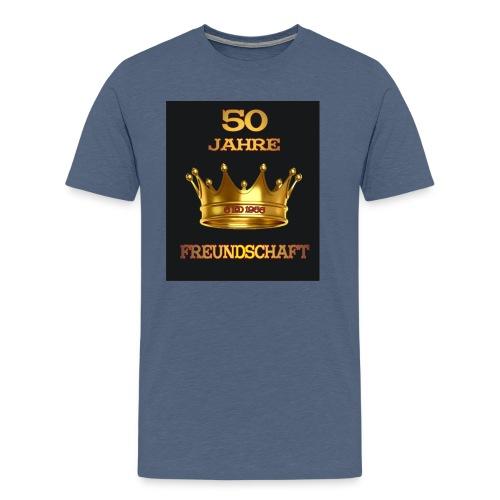 50 Jahre schwarz - Männer Premium T-Shirt