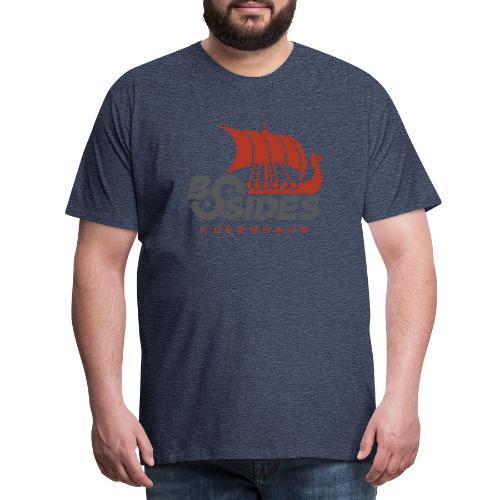 BSides Kbh 8 Bit Edition - Herre premium T-shirt