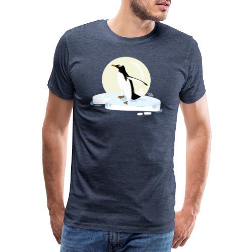 Ijzige pinguïn - T-shirt Premium Homme