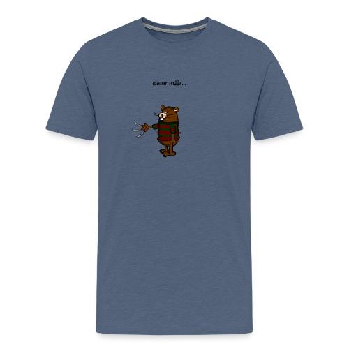 Hamster Freddie - Mannen Premium T-shirt