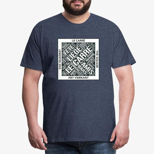 Le Carré - Liège - T-shirt Premium Homme