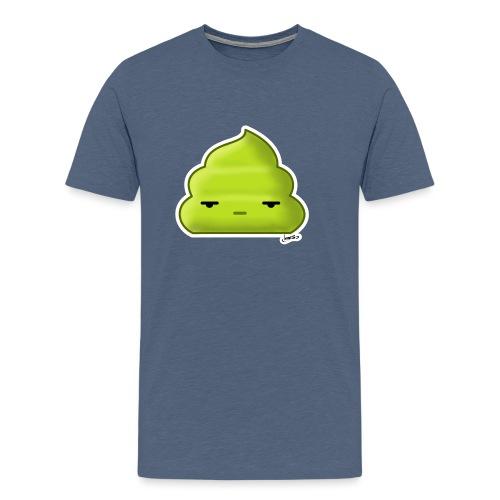 Cacca Verde - Maglietta Premium da uomo