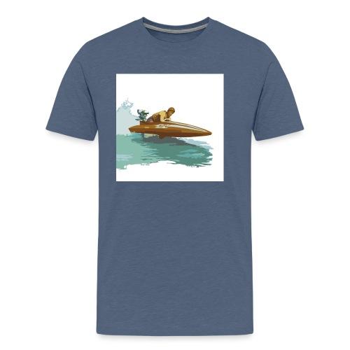 Stock Outboard Class A B Racer ohne Text - Männer Premium T-Shirt