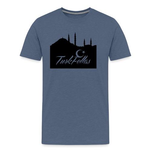 Turkfellas IST. skyline - Mannen Premium T-shirt