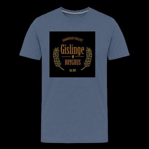 Sort logo 2017 - Herre premium T-shirt