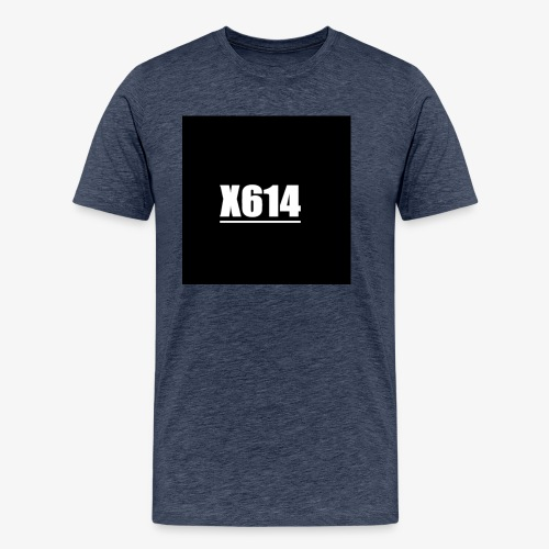X614 logo - Premium T-skjorte for menn