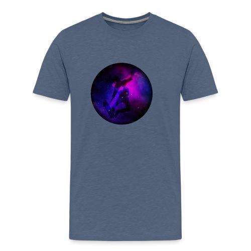 Ride the Univers - Männer Premium T-Shirt