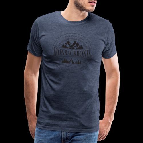 Outdoor-Sport-Schule IRONBACKBONES - schwarz - Männer Premium T-Shirt