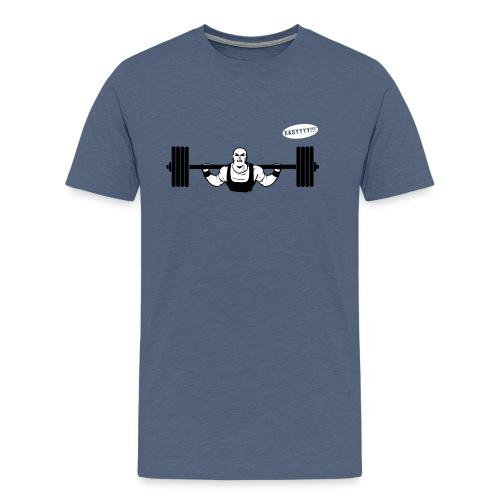 Gewichtheber T-Shirt für Kraftsport Liebhaber - Männer Premium T-Shirt