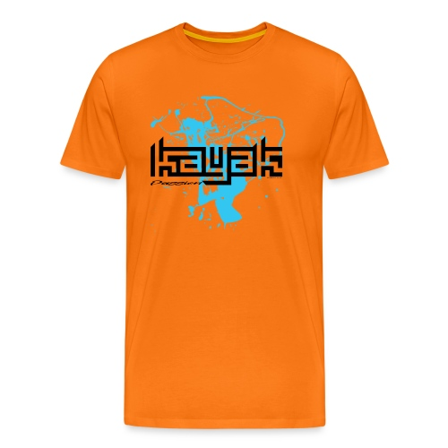 KAYAK PASSION SPORT TEXTILES AND GIFT IDEAS - Miesten premium t-paita