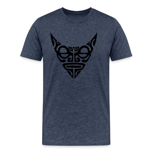 visage maori7 noir - T-shirt Premium Homme