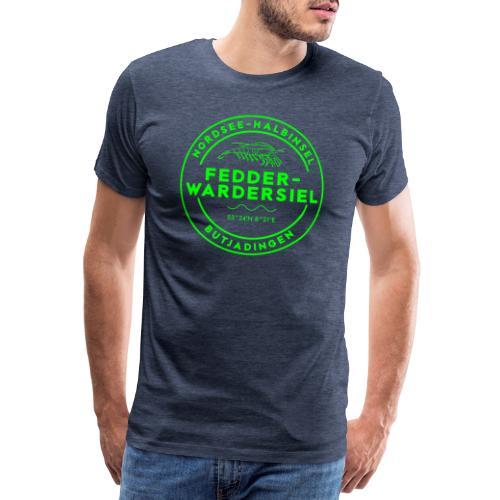 Fedderwardersiel NEON - Männer Premium T-Shirt