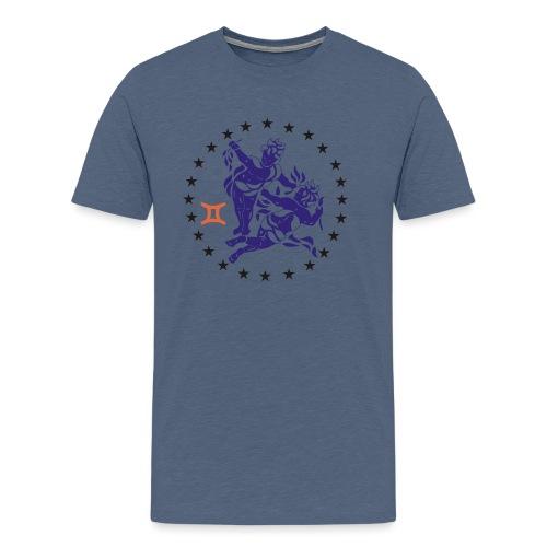 Tablier de cuisine : Zodiaque Gémeaux - Men's Premium T-Shirt