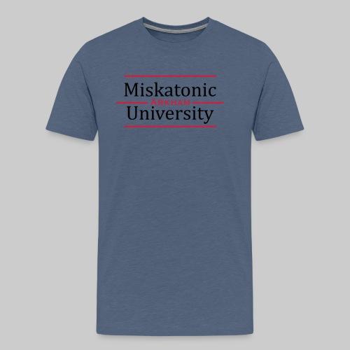 Miskatonic University - Männer Premium T-Shirt