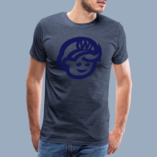 logo bb spreadshirt bb kopfonly - Männer Premium T-Shirt