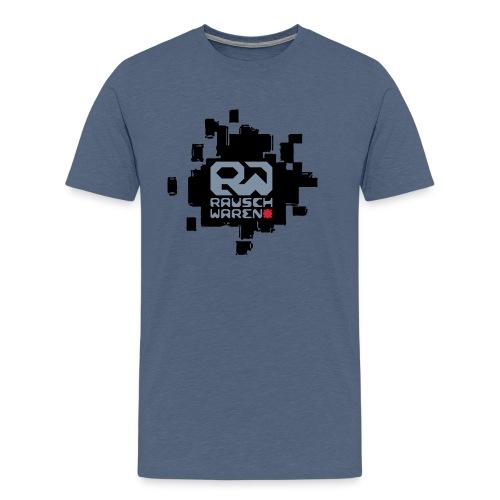 Rauschwaren Komplettlogo - Männer Premium T-Shirt