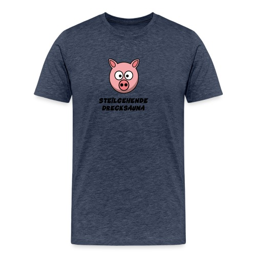 DrecksauDesignBunt - Männer Premium T-Shirt