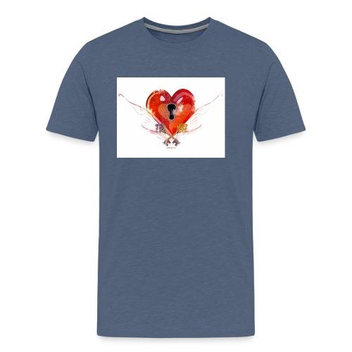 stvalentinmotif2 - T-shirt Premium Homme