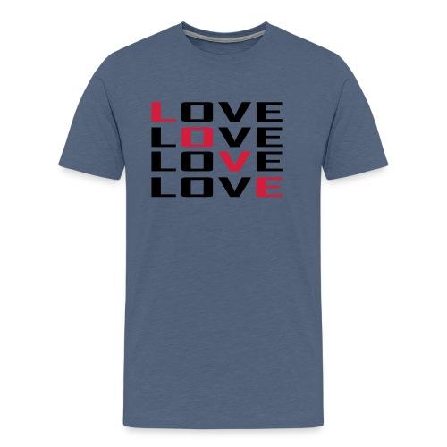 love_raster - Männer Premium T-Shirt