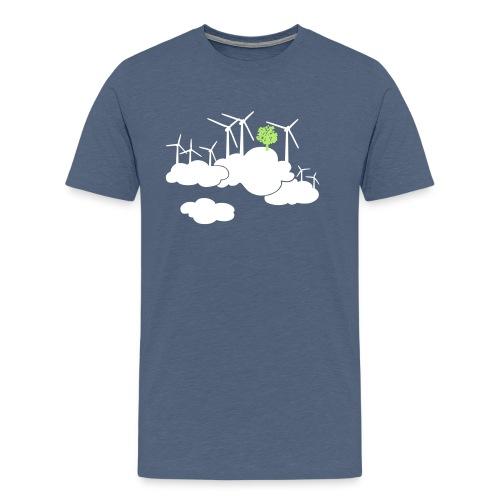 ein frischer Wind - Männer Premium T-Shirt