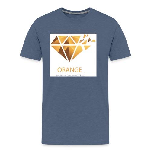 Orange Worldwide - The Private Gentleman's Club - Männer Premium T-Shirt