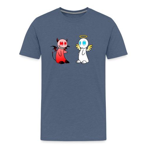 Teuferl-Engerl - Männer Premium T-Shirt