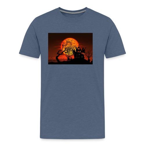 Le soleil couchant - T-shirt Premium Homme