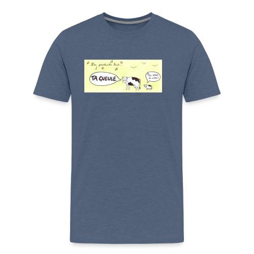 Vache pas laitière - T-shirt Premium Homme