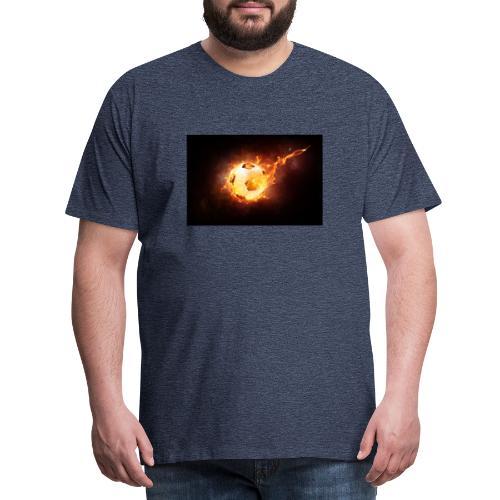 Ballon en feu - T-shirt Premium Homme