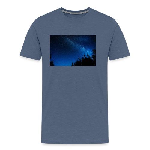 sterrenhemel afdruk/print - Mannen Premium T-shirt