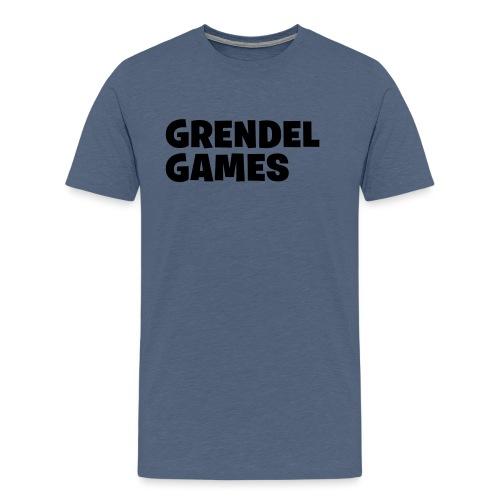 grendel text - Men's Premium T-Shirt
