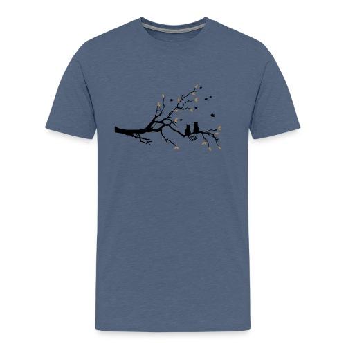 Cat Love - Männer Premium T-Shirt