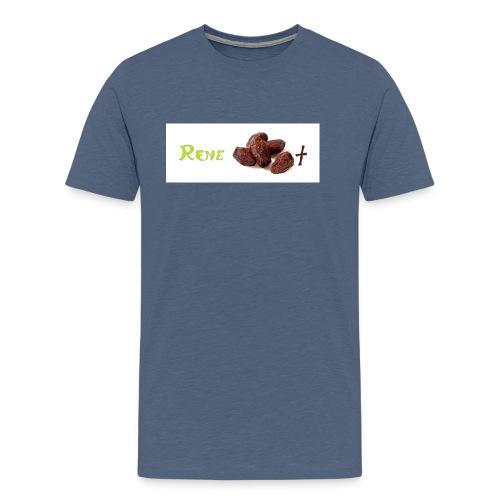 Rene daddelt 2 jpg - Männer Premium T-Shirt