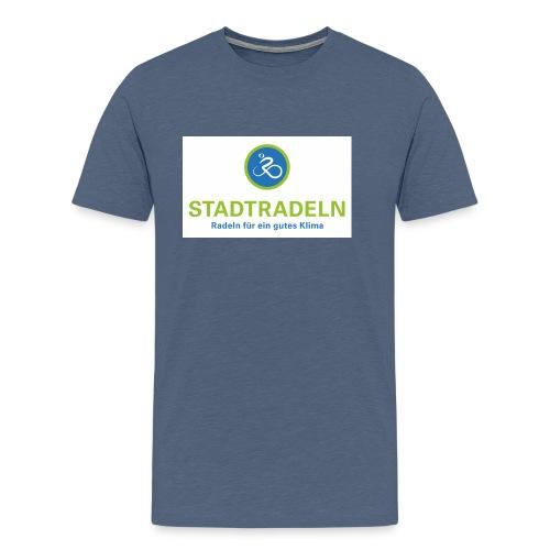 Stadtradeln quadratisch CMYK 300dpi jpg - Männer Premium T-Shirt