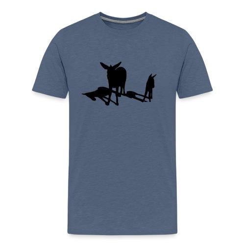 schattenesel - Männer Premium T-Shirt