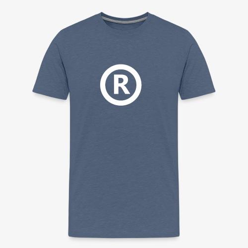 R design png - Mannen Premium T-shirt