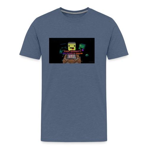 Cool Gamer yt - Premium T-skjorte for menn
