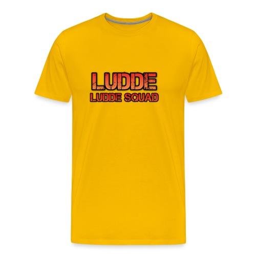 LUDDE SQUAD - Premium-T-shirt herr