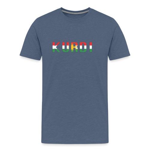 KURDI LOGO - Männer Premium T-Shirt