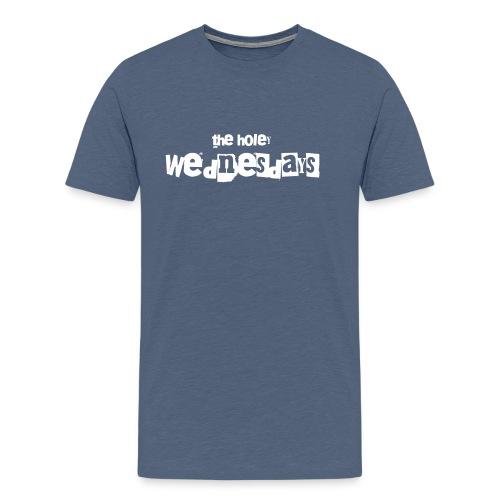 logo the holy wednesdays - Männer Premium T-Shirt
