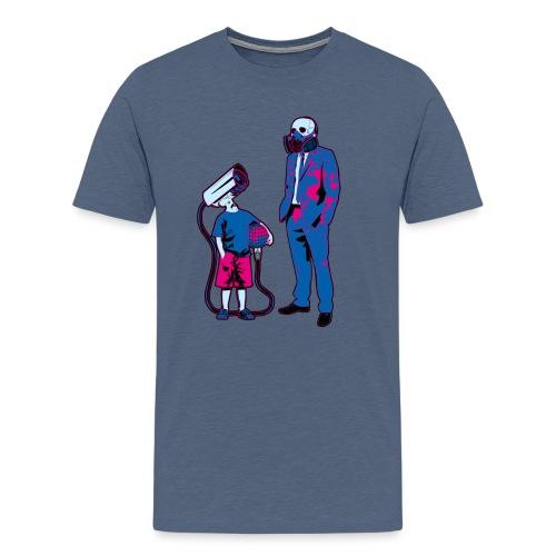 Littele Brother Big Brother - Mannen Premium T-shirt