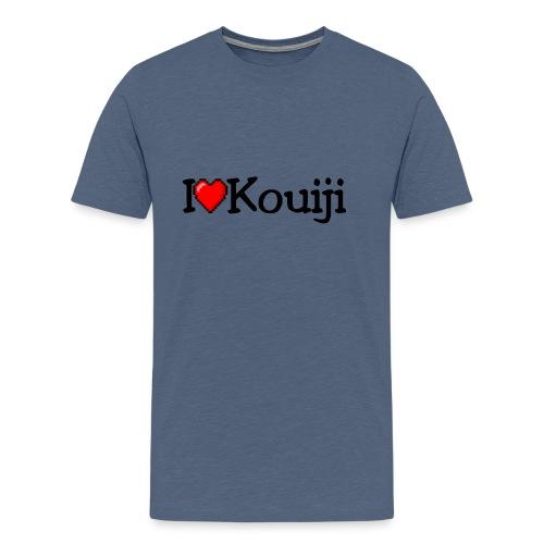 iherzkouiji png - Männer Premium T-Shirt