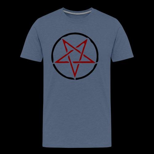 pentagram-158815_1280 - Männer Premium T-Shirt